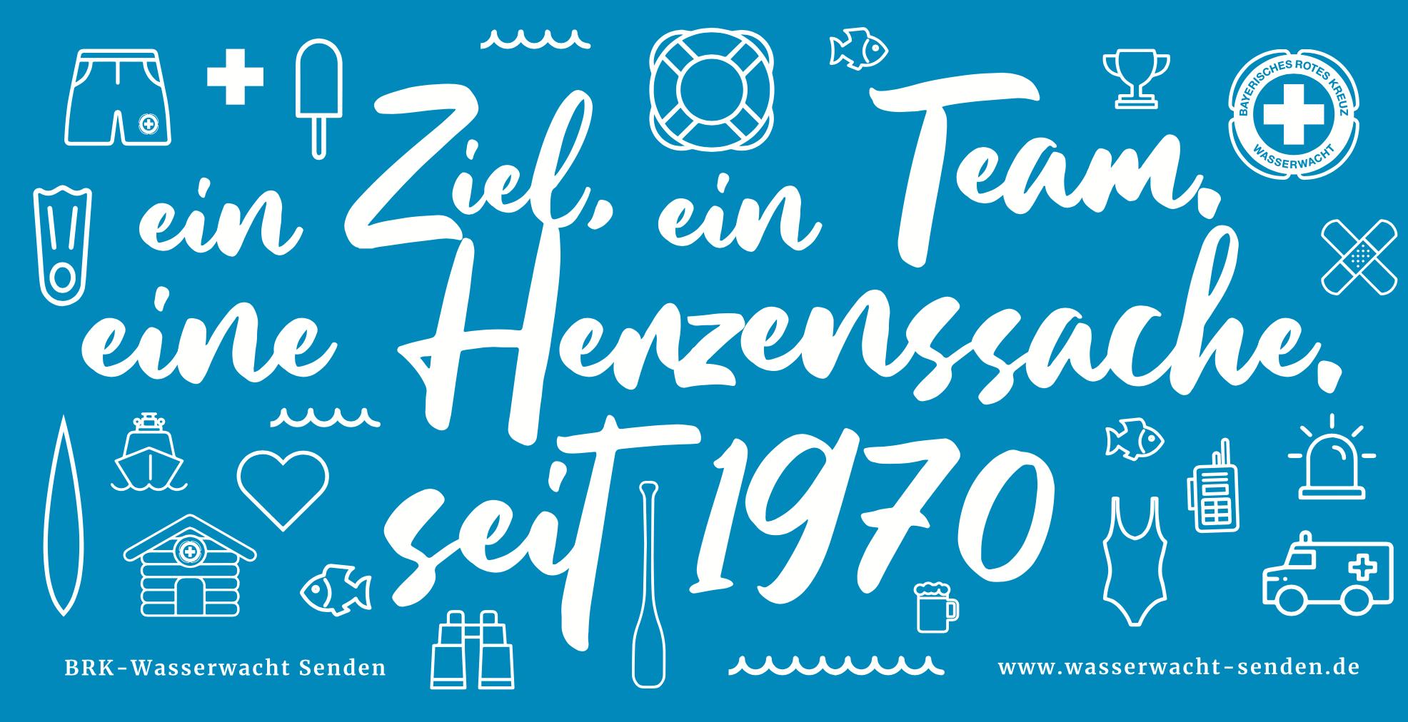 50 Jahre BRK-Wasserwacht Senden